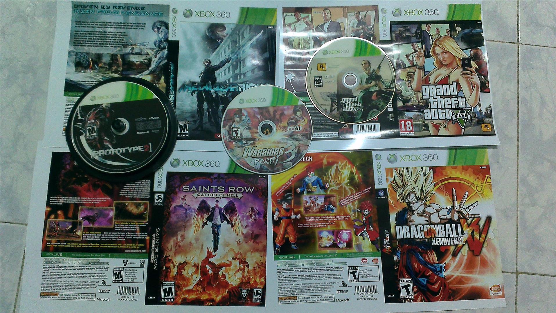 + [HCM] Bán đĩa game Xbox 360 giá 22k/dĩa có tặng khi mua nhiều