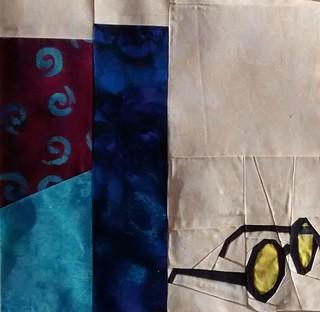1st quilt Block 4