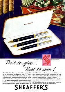Scheaffer's Pens