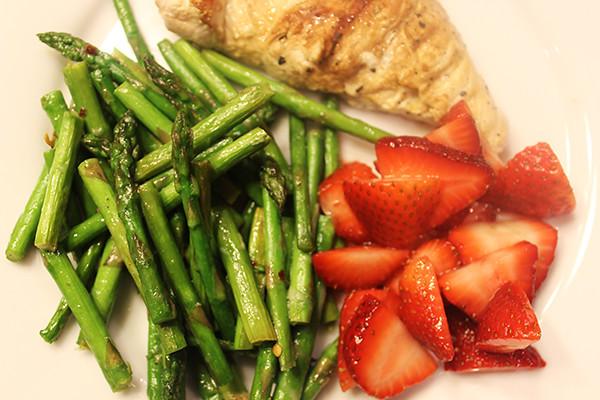 asparagus-strawberries