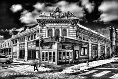 Historic Locust Theater- B&W
