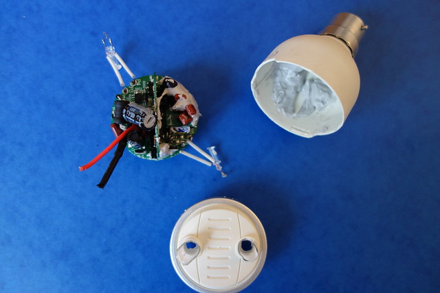 Inside a Philips LivingWhites Bulb