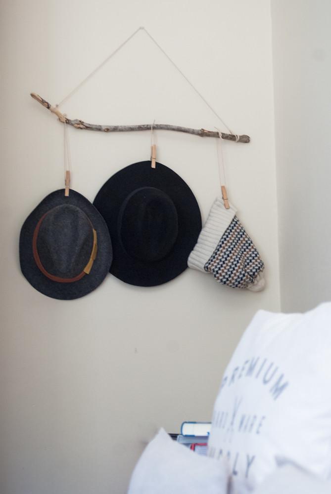 Colgador sombreros