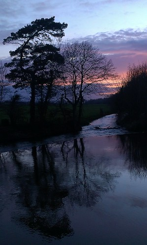 ireland sunset rivers