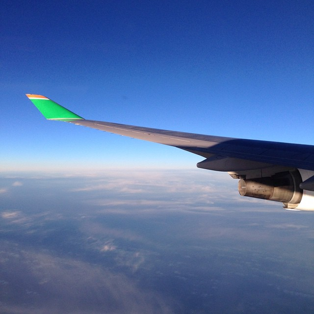 Eva Air wingtip