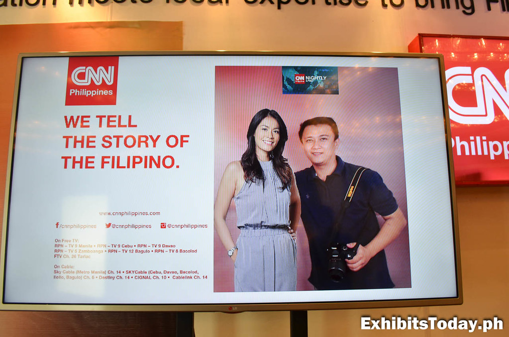 CNN Philippines Photo Display