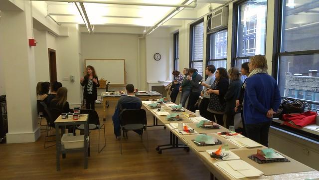 Lisa Furman's Printmaking Workshop 3.13.15