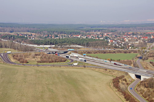 Autobahnabfahrt A2 - Burg Zentrum