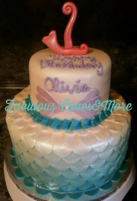 Mermaid Cake by Fabulous Cakes&More