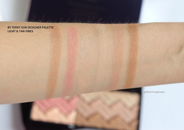 By Terry Sun Designer Palette Light & Tan Vibes swatches
