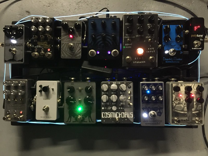 Ilovefuzz Com View Topic Let S See Your Pedal Board