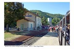 Boucieu Le Roi station. 20.8.13