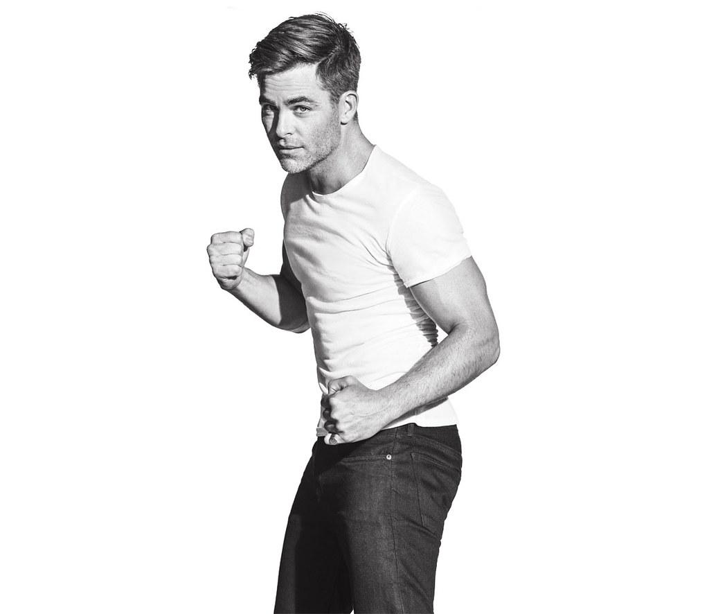 Крис Пайн — Фотосессия для «Men's Fitness» 2016 – 4