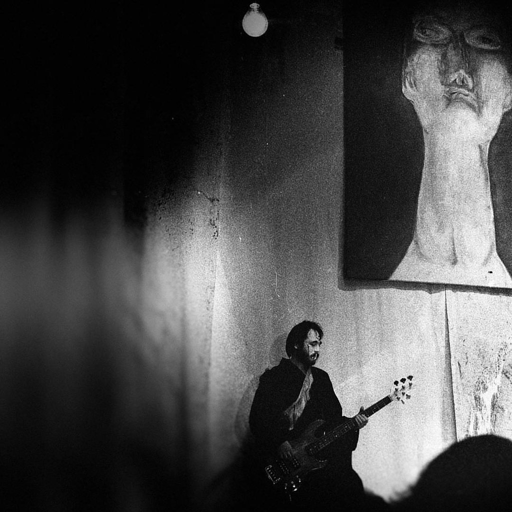 The bass player  #photooftheday #amazing #likes4follow #look #instalike #igers #picoftheday #instadaily #instafollow #followme #instagood #bestoftheday #instacool #instago #play #style #fashion #milano #blackandwhite #bw #bnw #show #music #art #monochrome