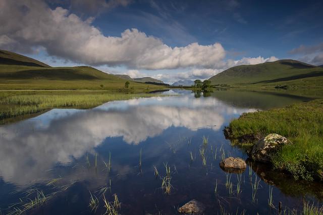 Loch Droma Reflections..