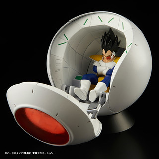 戰鬥民族來襲!Figure-rise Mechanics 賽亞人宇宙艙 サイヤ人の宇宙船ポッド