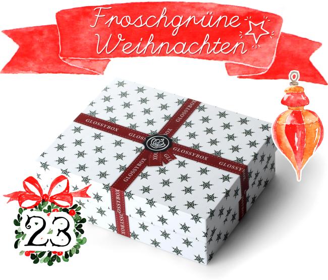 Froschgrüne Weihnachten, Blogger-Adventskalender, Türchen 23