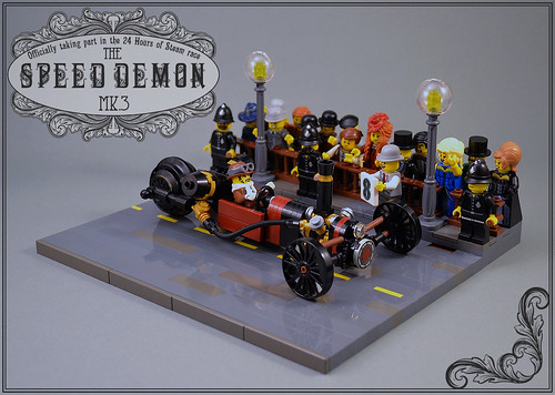 Brickish racer