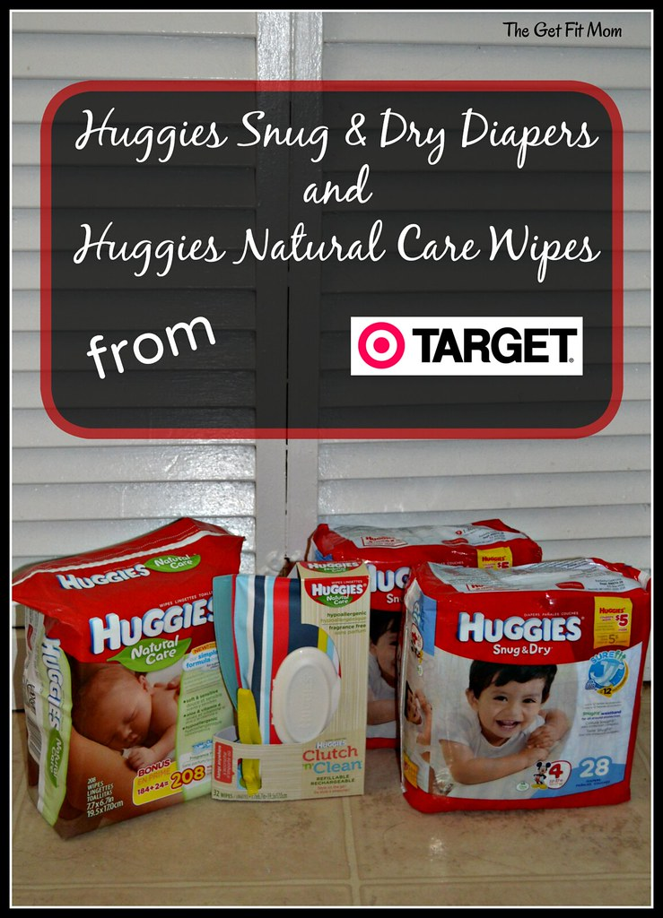 Huggies and Target Diapers and Wipes