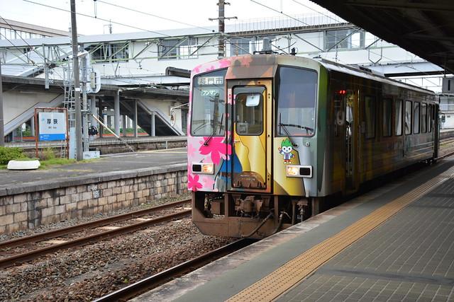 厚狭駅:美祢線ホーム