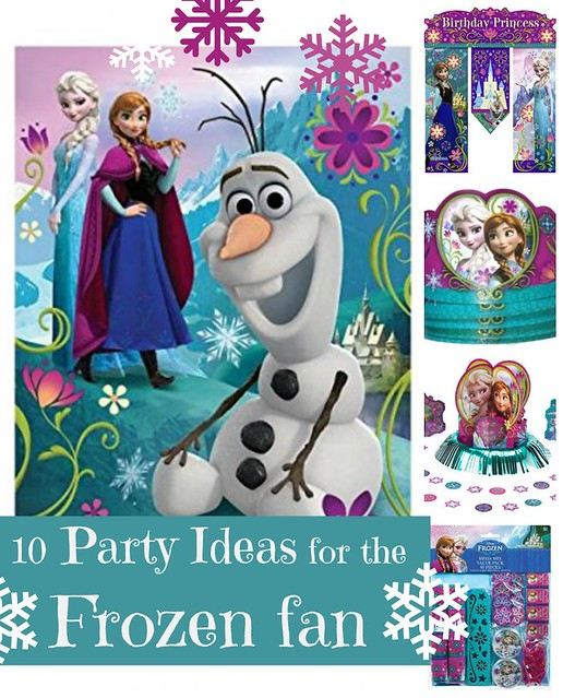 10 Frozen Theme Birthday Party Decoration Ideas