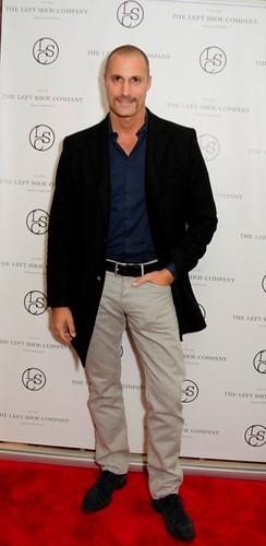Nigel Barker at the Left Shoe company NYC Pop-Up Opening Celebration
