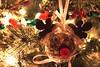 Reindeer Ornament - handmade