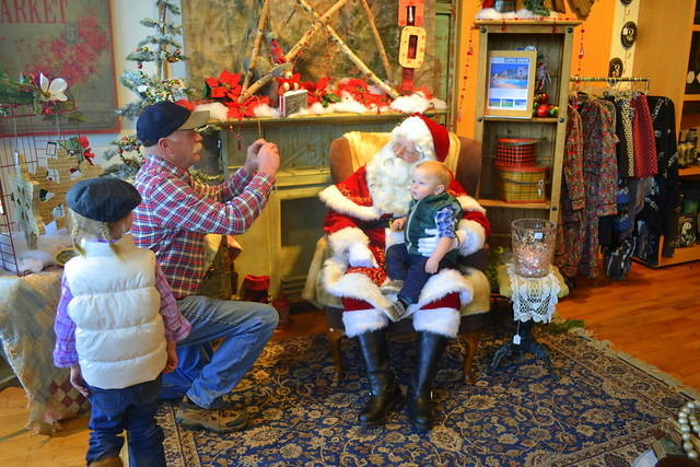 Grandma, Papa, & Santa