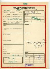 125. A Belügyminisztérium Igazgatásrendészeti csoportfőnökének levele a Külügyminisztérium Konzuli főosztályvezetőjének Budapest, 1990. április 13. File0737