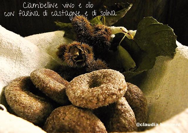 ciambelline di farina di castagne e di solina (1)