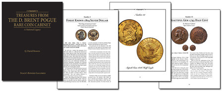 D. Brent Pogue Rare Coin Cabinet pages