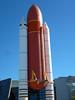 Life size Mockup of Shuttle Booster Rocket