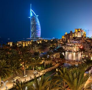 The Burj from Al Qasr Hotel