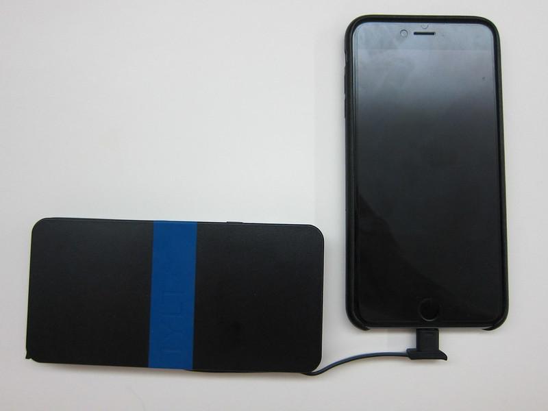 TYLT Energi 5k+ Battery Pack - Charging iPhone 6 Plus