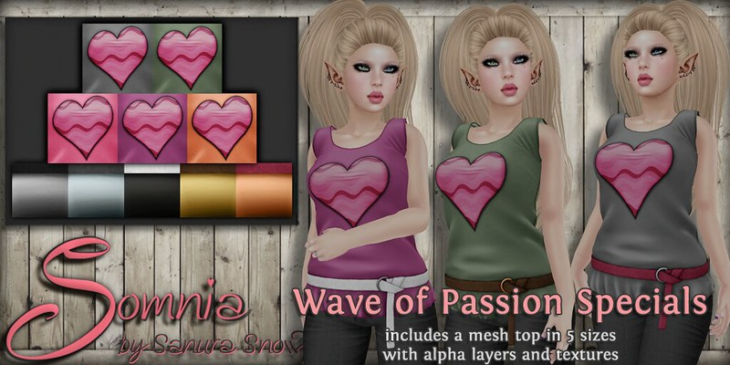 ._ Somnia _.  Wave of Passion Specials Ad