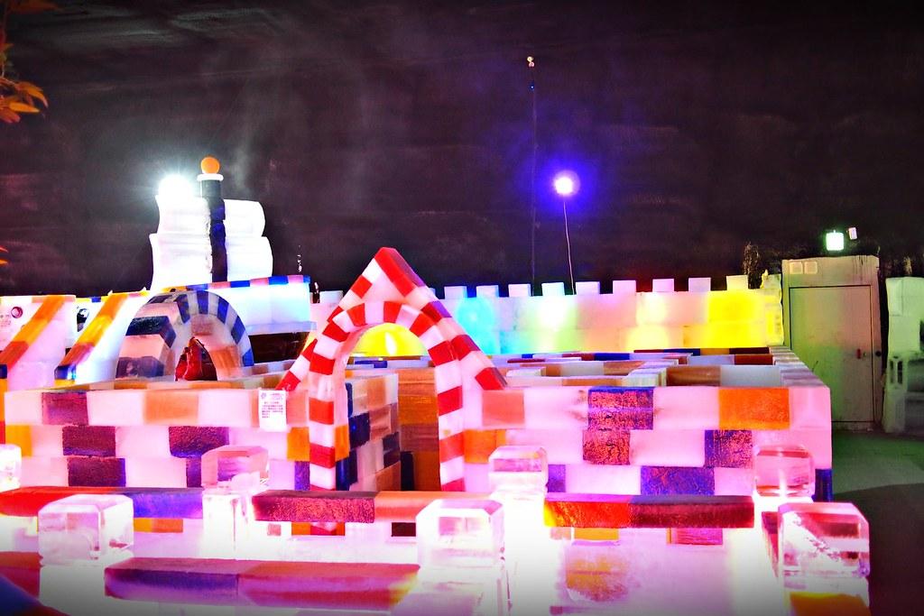 台中高鐵-2015正宗哈爾濱冰冰燈冰雕展-51