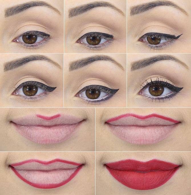 11 - maquiagem inspirada look do dia sapatilha omg petite jolie blog sempre glamour