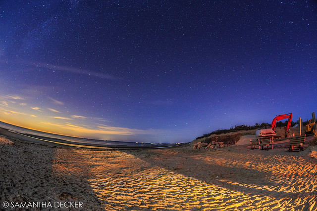 Starry Night at First Encounter Beach