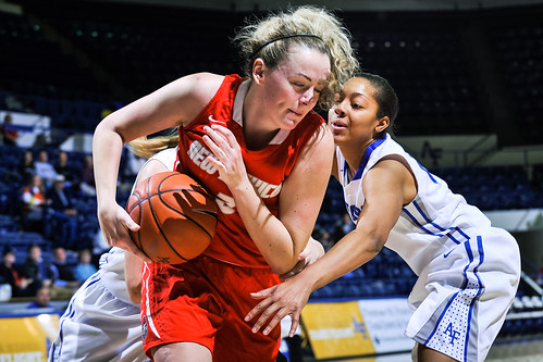 click for gallery - 01-14-15 WBB AFA vs. New Mexico
