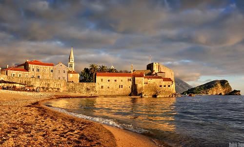 plaza old sunset sea beach clouds town more fortification fortress priroda montenegro adriaticsea budva crnagora oblaci tvrdjava jadranskomore d5200 nikond5200 bukvicivan