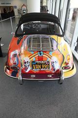 volkswagen beetle(0.0), wheel(0.0), race track(0.0), race car(1.0), automobile(1.0), vehicle(1.0), automotive design(1.0), porsche 356(1.0), subcompact car(1.0), land vehicle(1.0), luxury vehicle(1.0),