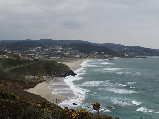 Playa de Combouzas y Barrañán en Arteixo