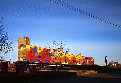 Cotton Belt Mural
