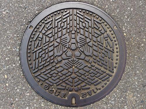 Notojima Ishikawa, manhole cover 3 (石川県能登島町のマンホール3)