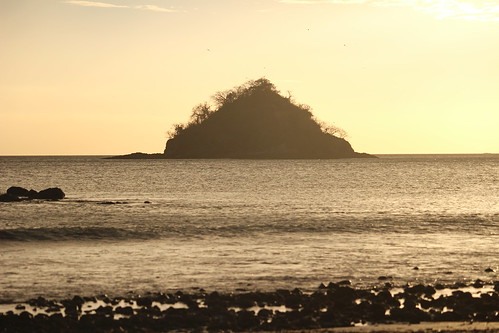 light sunset sea beach playa guanacaste mogote playadanta jczuniga