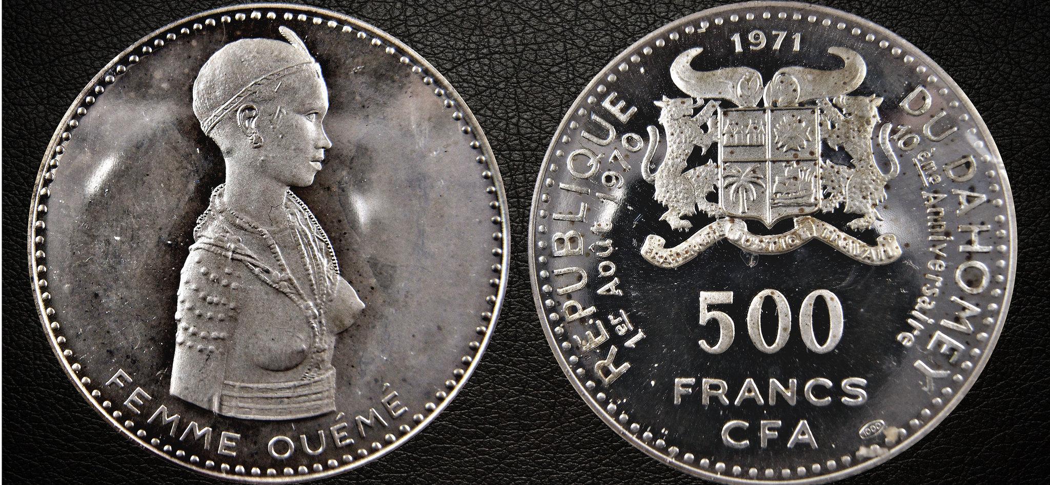 500 FRANCS 1971 - REPUBLICA DE DAHOMEY - 10º ANIVERSARIO DE LA INDEPENDENCIA 16320422545_677eac7a81_k