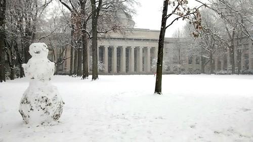MIT snowman