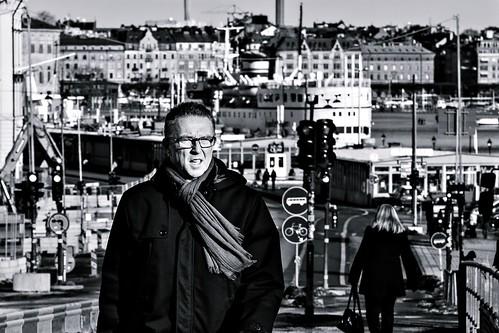 street city people blackandwhite bw streets monochrome mono blackwhite europe sweden stockholm streetphotography sigma panasonic streetphoto scandinavia bnw streetview streetshot 2015 panasonicdmcgm1