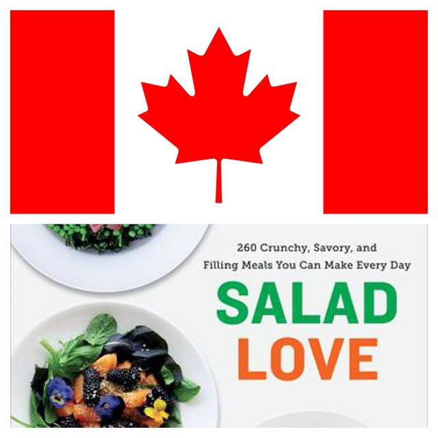 Canadians!!! Here are all the infos about the book!  http://penguinrandomhouse.ca/books/247299/salad-love  #raw #salad  #vegetarian #vegan   #happydesksalad #desklunch #desk #rawfood #rawvegan #veg #veganfood #veganshare #cleaneat #eatclean #nutrition #nu