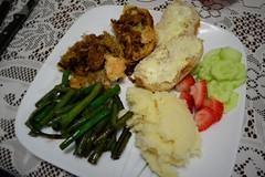 Christmas Day Dinner (Vegan)